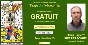 site de tirage tarot de marseille. Black Bedroom Furniture Sets. Home Design Ideas