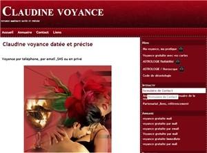 Claudine voyance